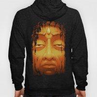 Buddha II Gold Hoody