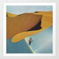 UNTITLED (Love Is A Deserter) Art Print