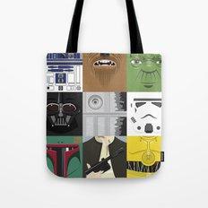 Starwars combo Tote Bag