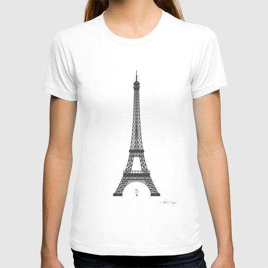Eiffel Tower - First Kiss T-shirt