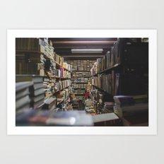 Knowledge Is Power Art Print
