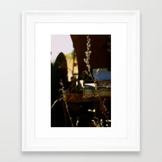 Weeds • Pumpkin Patch Framed Art Print