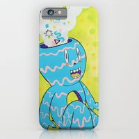iPhone Cases featuring Mental Health by Frenemy