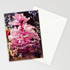 Purple plant Stationery Cards
