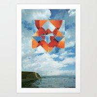 Orange Sky Art Print