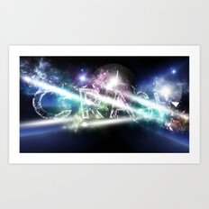 CrAsH in the Universe Art Print