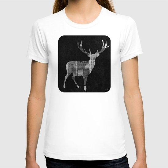 Deer City Collage 2 T-shirt