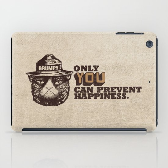 Grumpy PSA iPad Case