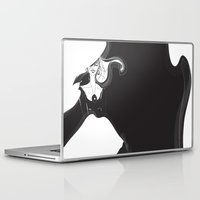 Laptop & iPad Skin featuring Waiting by Tracey Chan Design