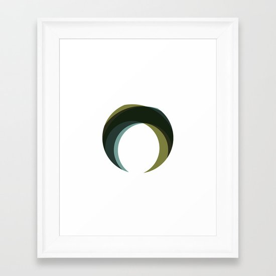 #251 Palantír – Geometry Daily Framed Art Print