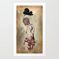 Red Roots Art Print