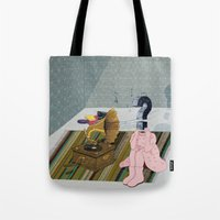 The Same Old Record. Que… Tote Bag