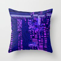 Taintedcanvas162 Throw Pillow