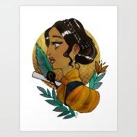 Josephine Montilyet Art Print