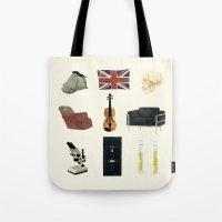 221B Baker Street Tote Bag