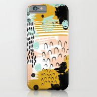 iPhone & iPod Case featuring Ames - Abstract Painting… by CharlotteWinter