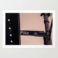 Corner Of Pike Art Print