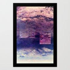 Oceans In The Sky Art Print