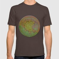 Labyrinth Mens Fitted Tee Brown SMALL