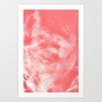 Sky Dye Art Print