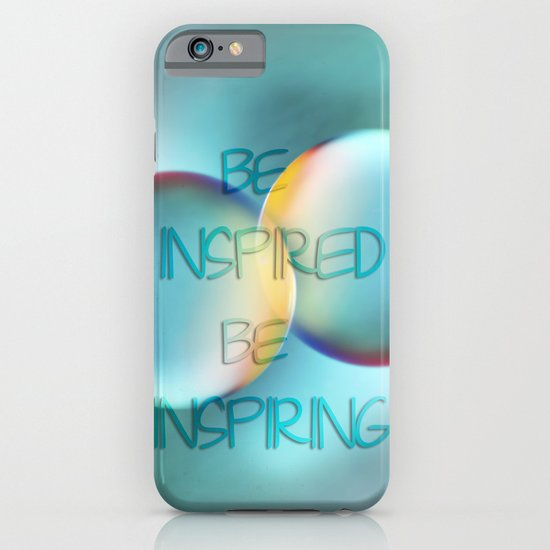 be inspired be inspiring iPhone & iPod Case