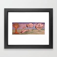 Clouds Of The Mind 2 Framed Art Print
