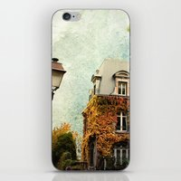 Autumnal Montmartre iPhone & iPod Skin