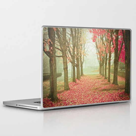 Scarlet Autumn Laptop & iPad Skin