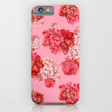 hydrangea (doubled) Slim Case iPhone 6s