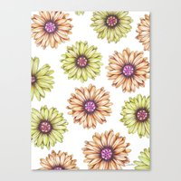 Fun With Daisy- In Memor… Canvas Print