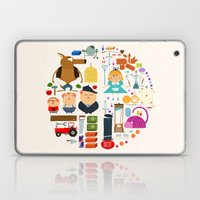 Alice In Wonderland + Th… Laptop & iPad Skin
