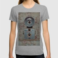 Imperial Satellite 127 Womens Fitted Tee Athletic Grey SMALL