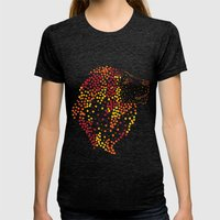 Lion Womens Fitted Tee Tri-Black SMALL