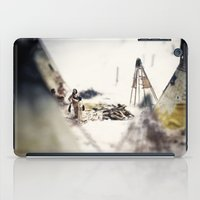 Tom Feiler Aboriginal Mother and Child iPad Case