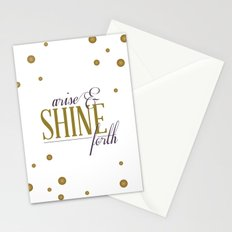 Arise & Shine Forth Stationery Cards