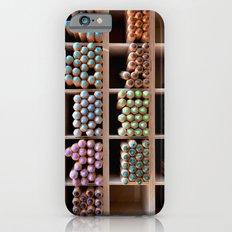 Coloured pencils iPhone 6 Slim Case