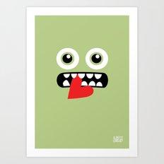 EYE EAT Art Print