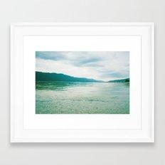 lake 0102 Framed Art Print