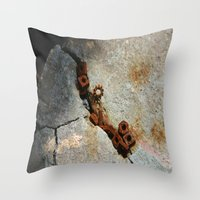 Nuts and Bolts Throw Pillow