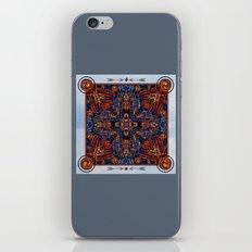 Shining Winter Nights Kaleidoscope  iPhone & iPod Skin