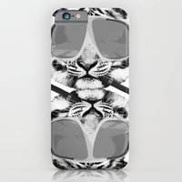 iPhone & iPod Case featuring Shigar and a Waffle by Shipwreck Moon Designs