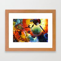 Beautiful Colors Framed Art Print