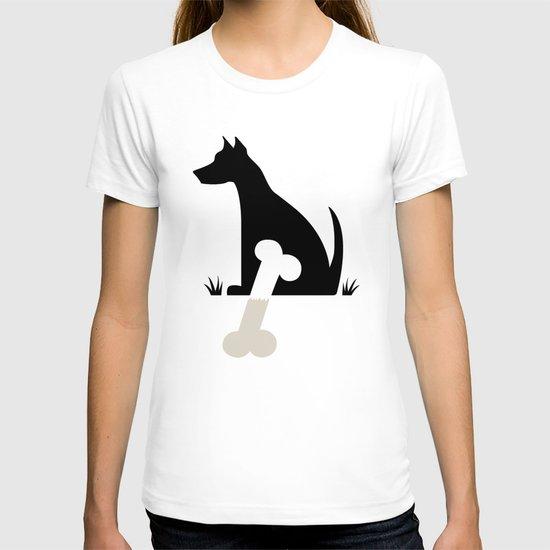 Gave a Dog a Bone (Green) T-shirt