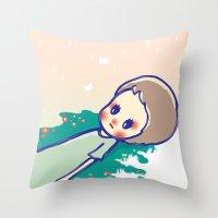 a little star Throw Pillow