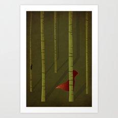 Little Red Riding Hood - NO TEXT Art Print
