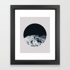 Ocean Moon #society6 #decor #buyart Framed Art Print