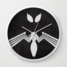 Spider-Man Black Costume Wall Clock