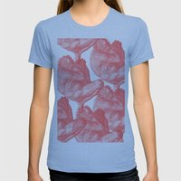 Pluto And Virgil Womens Fitted Tee Athletic Blue SMALL