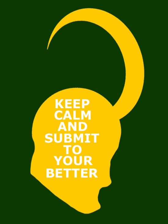 Keep Calm and Submit Art Print
