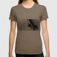 Showerhead Womens Fitted Tee Tri-Coffee SMALL